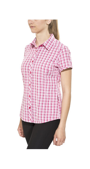 Columbia Surviv-Elle II - Camisas de manga corta Mujer - rosa/blanco